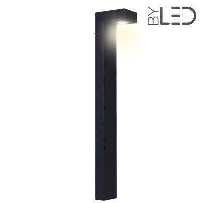 Borne LED extérieure Anthracite - 6 Watts - TRACK - 80 cm