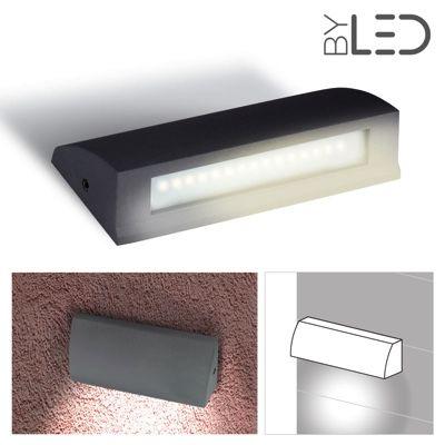 Applique LED murale plate étanche 3.5W - 230V - PROXY 3.5