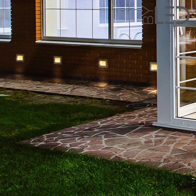 encastr mural ext rieur 1 5w 230v spot led encastrable. Black Bedroom Furniture Sets. Home Design Ideas