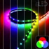 Ruban IP65 5050 - RGB - 7,2W/m - 30 LED/m - 5m