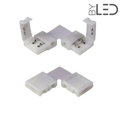 Jonction ruban LED Mono 10mm Click en L