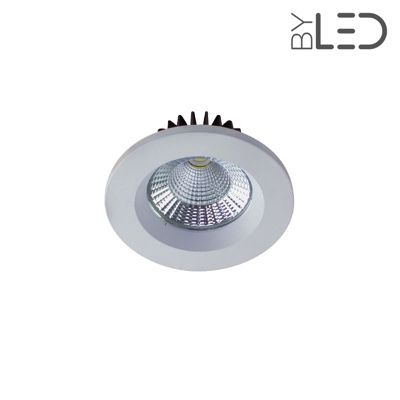 Spot LED encastrable fixe - IP64 - BBC - RT2012 - Cobyx 5W – Blanc