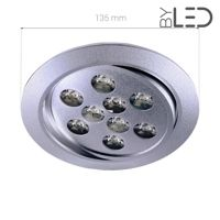 Spot LED encastrable orientable 9W - Focus 9