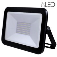 Shape – Projecteur LED ultra plat 50W Noir - 230V - extérieur/intérieur