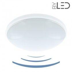 Plafonnier LED à détecteur 18W - GLOBE-18