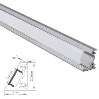 Profilé LED aluminium d'angle asymétrique - CRAFT - A05
