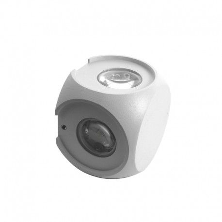 Applique LED murale cube 4 directions 4W - Kubbe