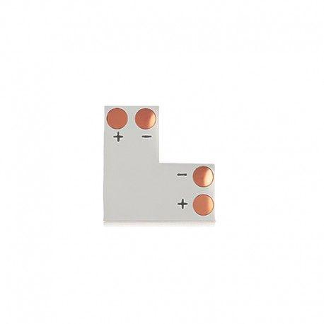 Connecteur en L à souder pour ruban LED