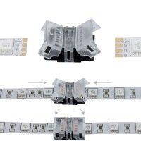 Jonction rapide ruban LED RGB IP20 - 4p