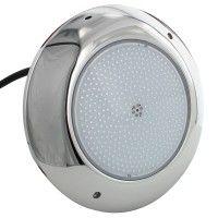 Projecteur piscine plat inox 260mm - RGB – 35W – 12VDC – IP68 – PWM