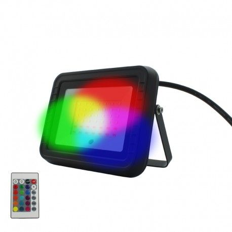 Projecteur LED RGB 15W – IR