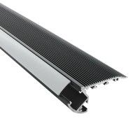 Profilé aluminium noir marches escaliers pour ruban LED - CRAFT - S02