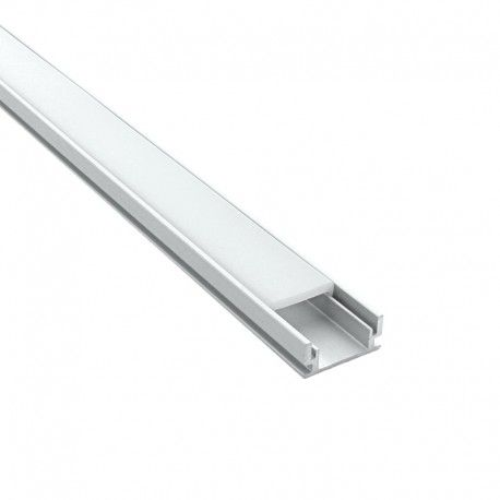 Profilé aluminium sol et mur pour ruban LED - CRAFT - F01