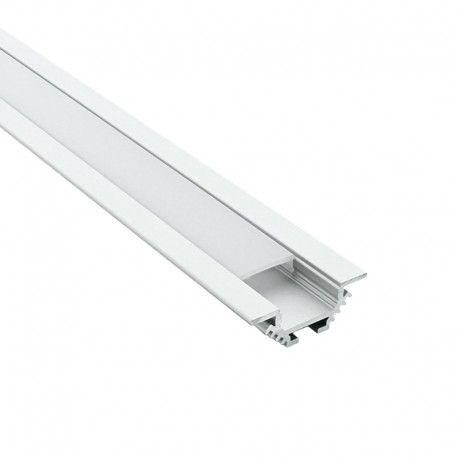 Profilé LED aluminium encastrable d'angle - CRAFT - E11