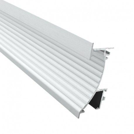 Profilé aluminium encastré mural pour ruban LED - CRAFT - M02