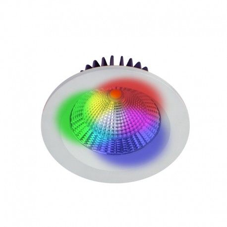 Spot LED encastrable fixe 10W IP64 - Cobyx
