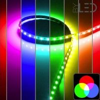 Ruban IP20 5050 - RGB - 14,4W/m - 60 LED/m - 5m